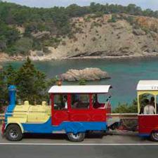 Tren turistico santa eulalia - ibiza